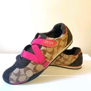 Sz 9.5 Coach sneakers